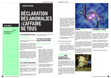 Article Vision normande mars 2014